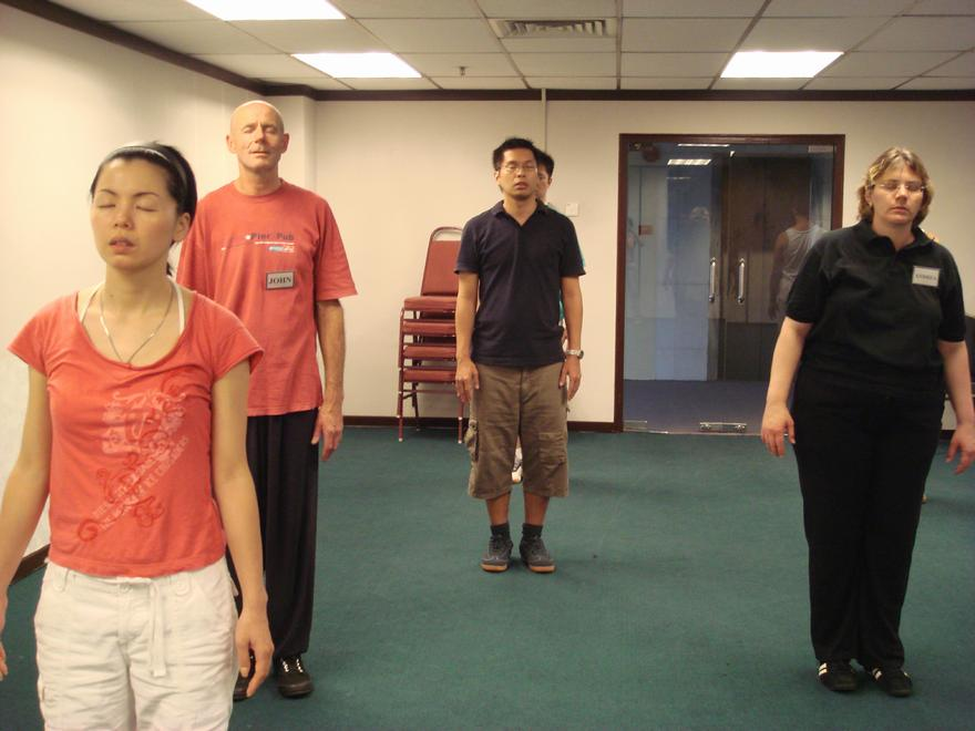 Intensive Chi Kung Course, Qigong course