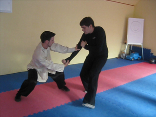Triple Stretch sparring