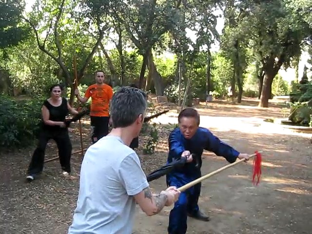 body and mind in kungfu training