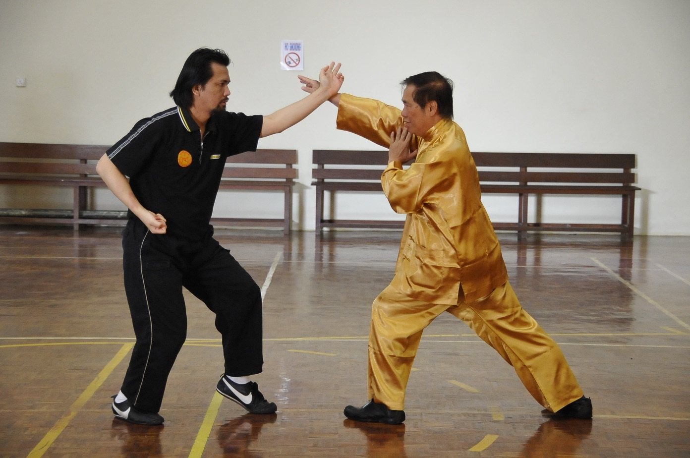 Shaolin combat Sequence