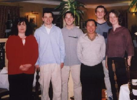 Sifu Wong, Joan and others in Ireland