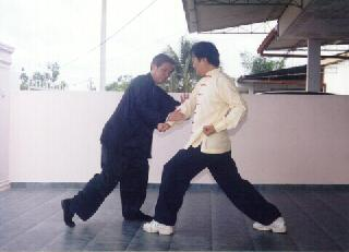 Flowing aspect of Taijiquan