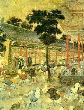 Shaolin Temple Mural