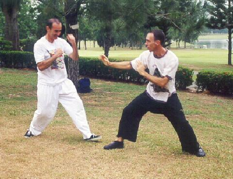 Taijiquan Sparring against Western Boxing