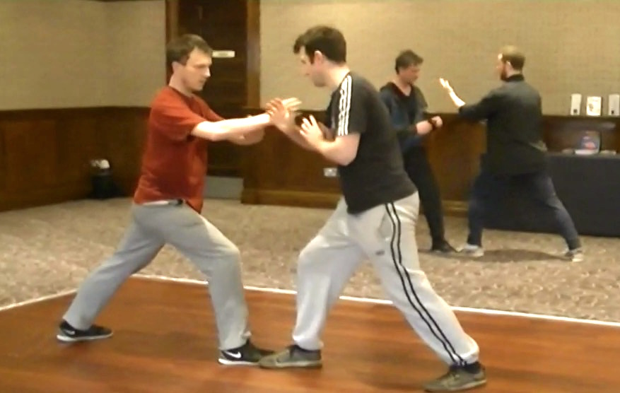 Taijiquan Pushing Hands Ireland 2017