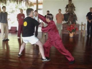 Taijiquan combat sequences