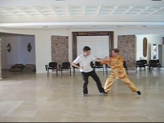 Defence-Footwork in Taijiquan